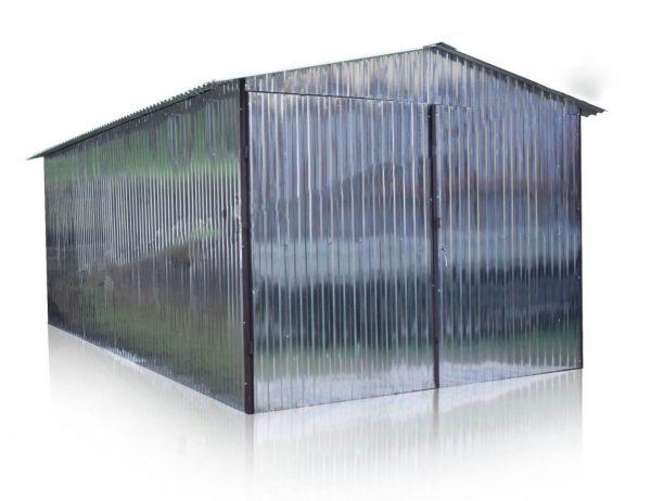 Mobilgarázs-nyeregtetős-3x5
