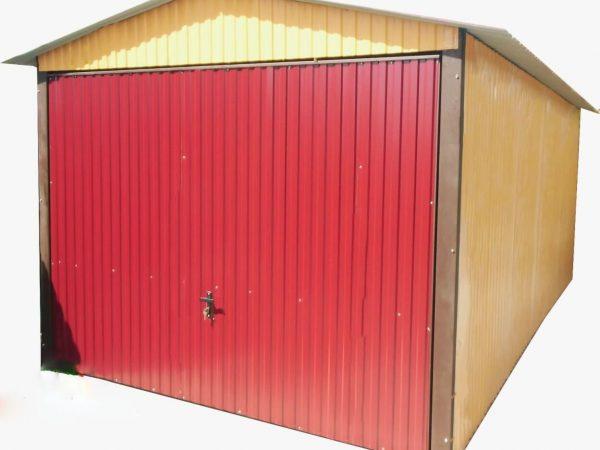 Mobilgarázs-nyeregtetős-3x5-szín-brama-uchylna